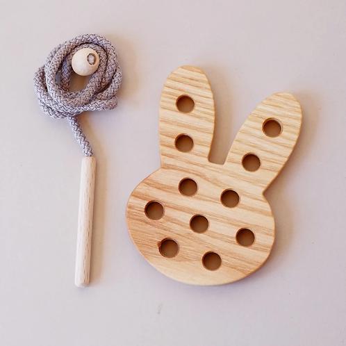 Bunny Lacing Toy