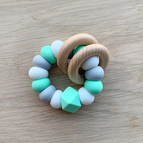 Mint Silicone Teether