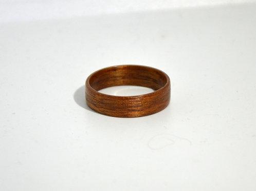 Bague en bois , alliance,  anneau en bois,Acajou