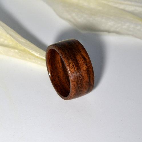 Bague en bois , alliance,  anneau en bois Mangeur