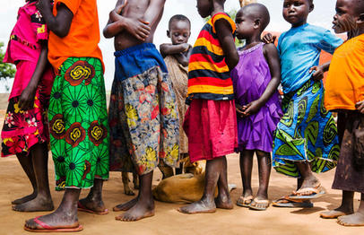 Imvepi Refugee Camp in Arua District, Northern Uganda