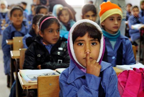 Jordan Camp Host to Thousands of Syrian Cross-Border Refugees
