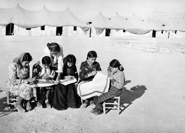Embroidery Revived in Palestine Refugee Camps