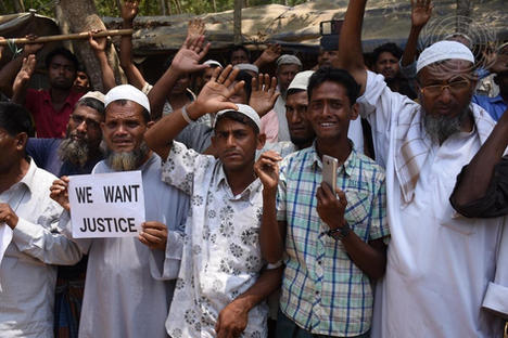 Security Council Members Visits Rohingya Refugee Camp in Bangladesh