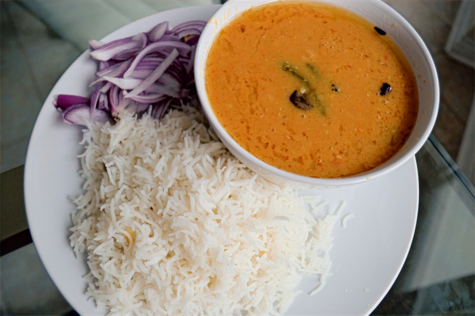 Dhaal Chawal (Lentils and Rice) - PAKISTAN
