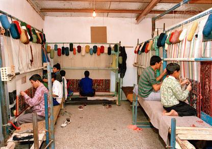 Afghan Refugees Work in Iran