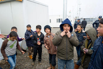UN Leaders Visit Kawrgosik Refugee Camp, Iraq