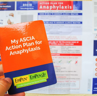 Anaphylaxis Action Plan