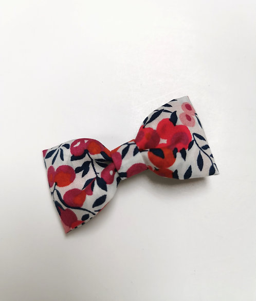 Barrette liberty wiltshire rouge