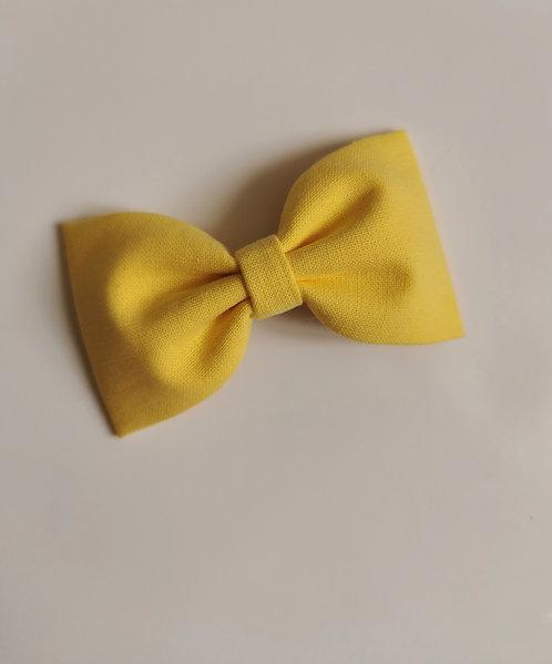 Maxi barrette jaune poussin