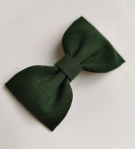 Maxi barrette vert sapin