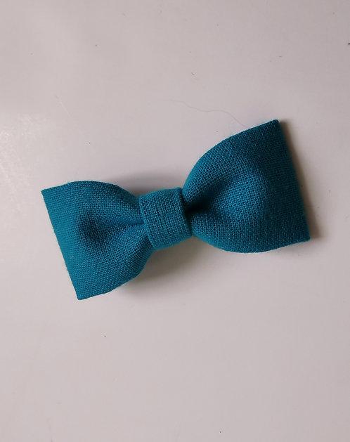 Barrette bleu lagon