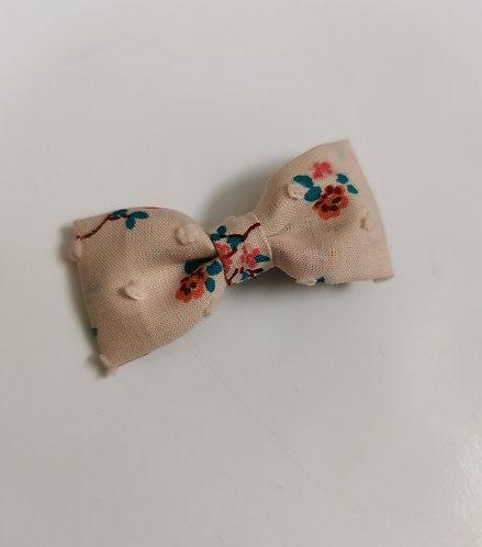 Barrette plumetis terracotta