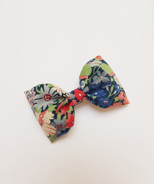 Maxi barrette liberty thorpe bleu rouge