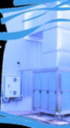 Evaporative Cooler on Warehouse Distribution Centre