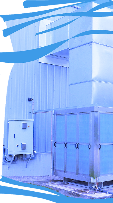 Evaporative Cooler on Warehouse Distribution Centre