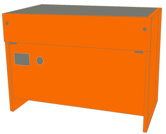 Downdraft Workbench for Grding and Fettling