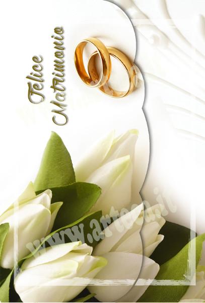 Auguri Felice Matrimonio : Biglietto auguri nozze felice matrimonio torta fedi e paillettes