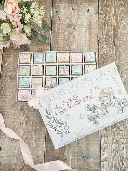 Christmas Cookie Advent Calendar 2021