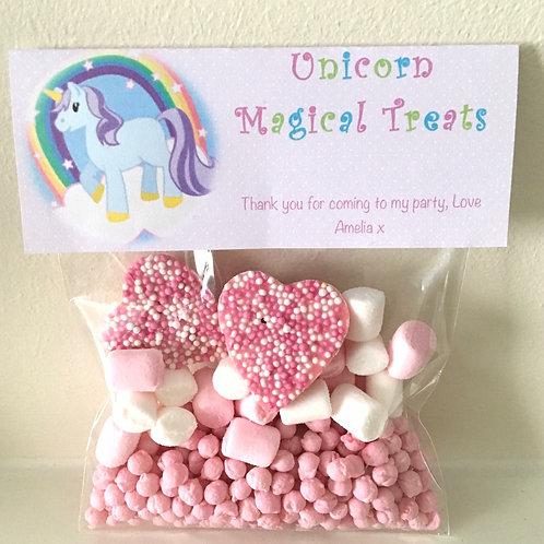 Unicorn Magical Treats Bag