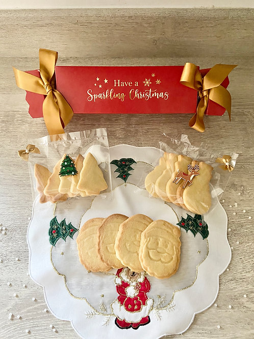Christmas Cracker Shortbread Selection