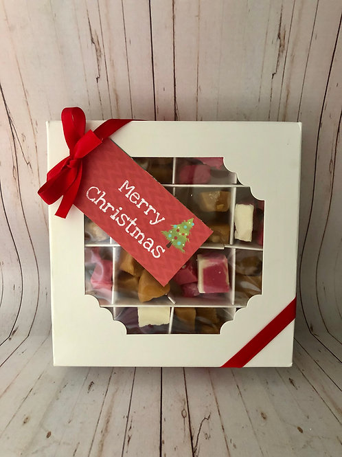 Christmas Fudge Box