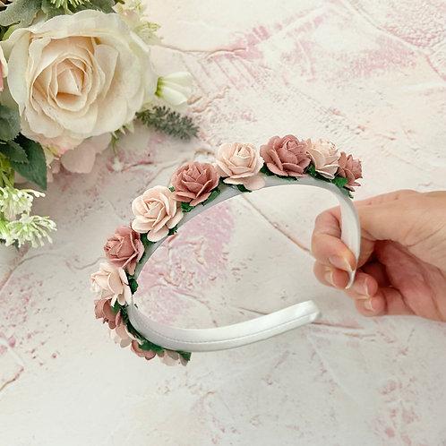 Simple & Elegant Mulberry Flower Headband