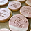 Thumbnail: Round Marbled Wedding Biscuits