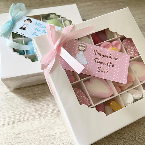 Flower Girl & Page Boy Proposal Sweet Boxes