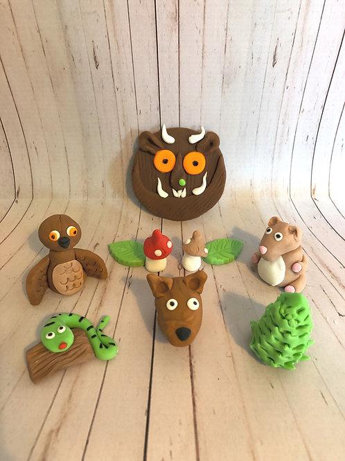 Gruffalo Cupcake Toppers