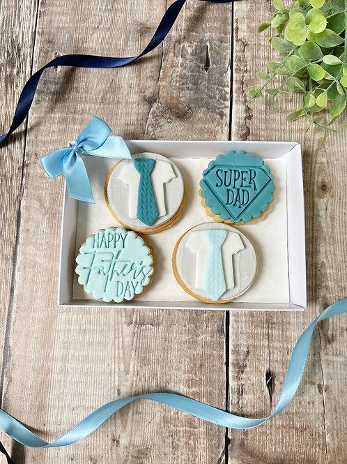 Duo of Ties Biscuit Gift Set