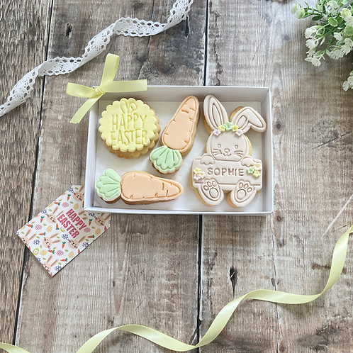 Hippity Hoppity Bunny Biscuit Gift Set