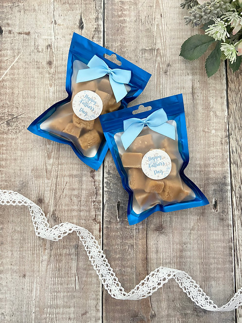 Fathers Day Fudge Bags