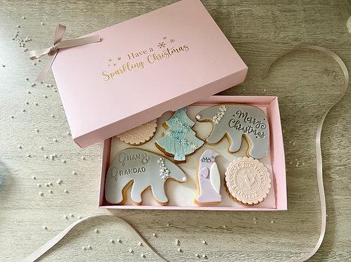 Large Winter Wonderland Cookie Gift Box