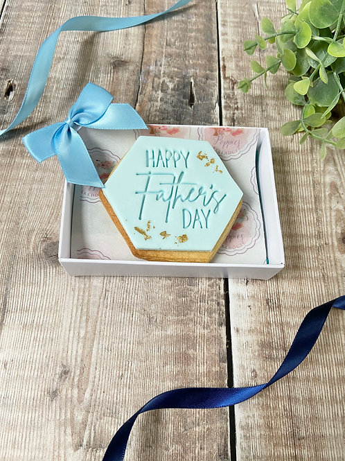 Fathers Day Boxed Biscuit
