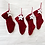 Thumbnail: Knitted Personalised Christmas Stocking
