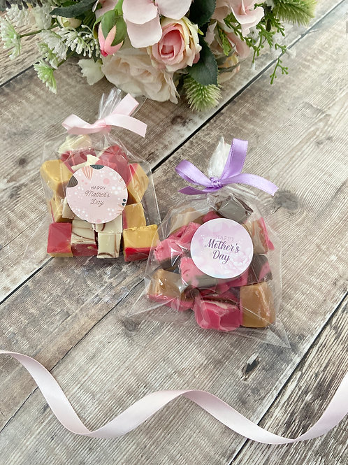 Mother's Day Fudge Bags