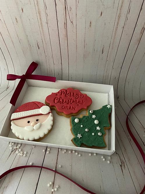 'Ho Ho Ho' Christmas Cookie Box
