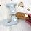 Thumbnail: Wooden Grey Freestanding Letter