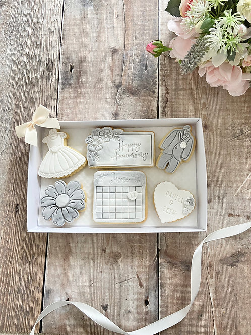 It's Wedding Time Biscuit Gift Set