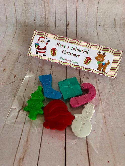 Christmas Novelty Crayon Bag