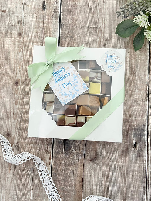 Fathers Day Fudge Selection Boxes