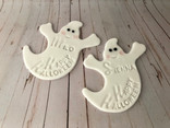 Ghostly Halloween Biscuits