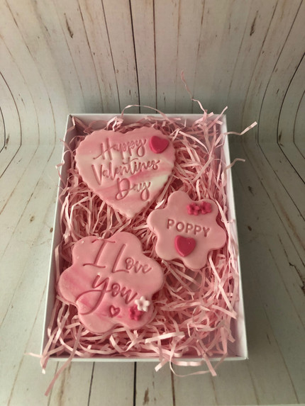 Valentines Biscuit Gift Set