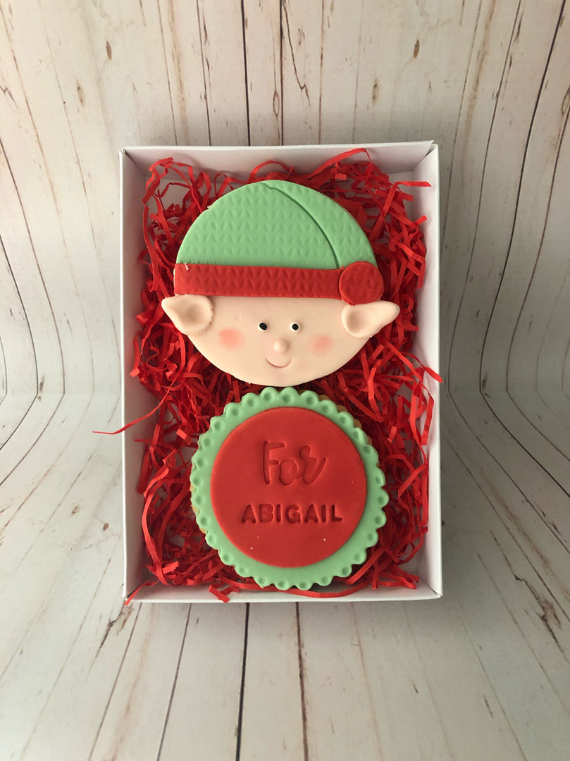 Cheeky Elf Biscuit Gift Set