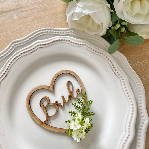 Fern & Floral MDF Place Settings