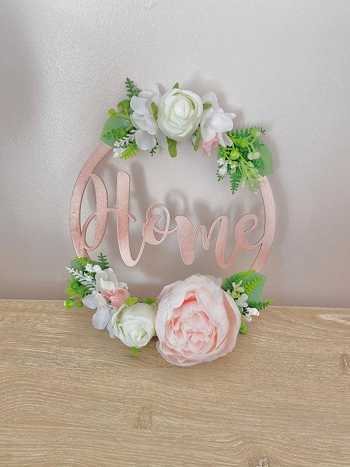 Home Floral Hoop