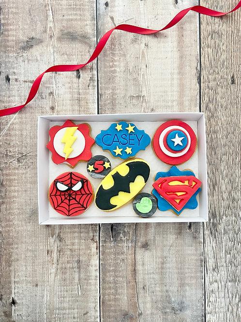 Pow. Boom. Zap. Superhero Box