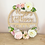Thumbnail: Business Signage Floral Hoop