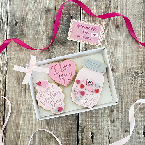 Sprinkled With Love Biscuit Set